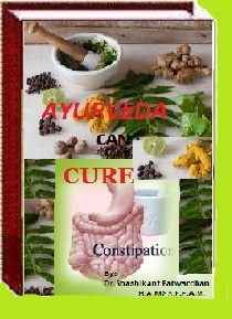Ayurvedic remedy for constipation
