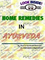 Home Remedies in Ayurveda
