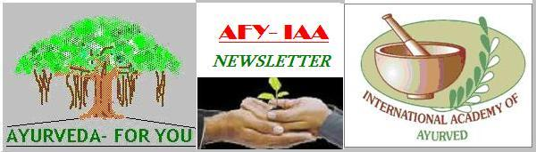 Ayurveda For You Newsletter